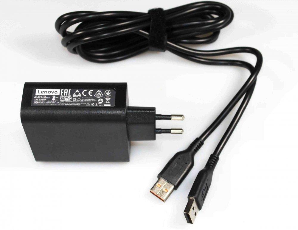 Блок питания для ноутбука ADL65WLG Lenovo 20V 3.25A 65W (special irregular USB) Оригинал