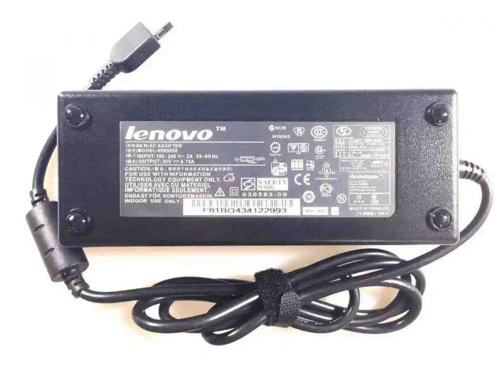 Блок питания для ноутбука Lenovo T440p ADL135NLC3A Y50 20V 6.75A 135W (square) Копия