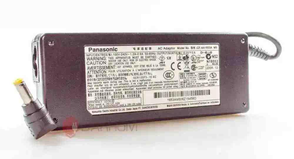 Блок питания для ноутбука Panasonic ToughBook CF-73 15.6V 5A 78W (5.5*2.5) Оригинал
