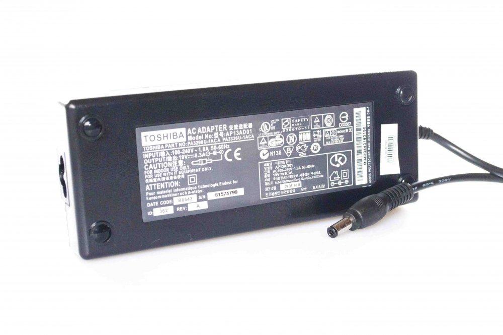 Блок питания для ноутбука Toshiba PA3290E-3AC3 19V 6.3A 120W (5.5*2.5) Копия