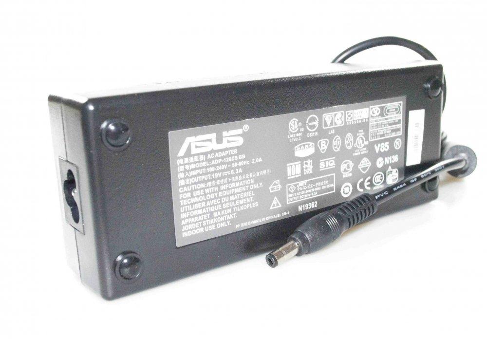 Блок питания Asus N5619V 6.3A 120W 5.5/2.5 Копия