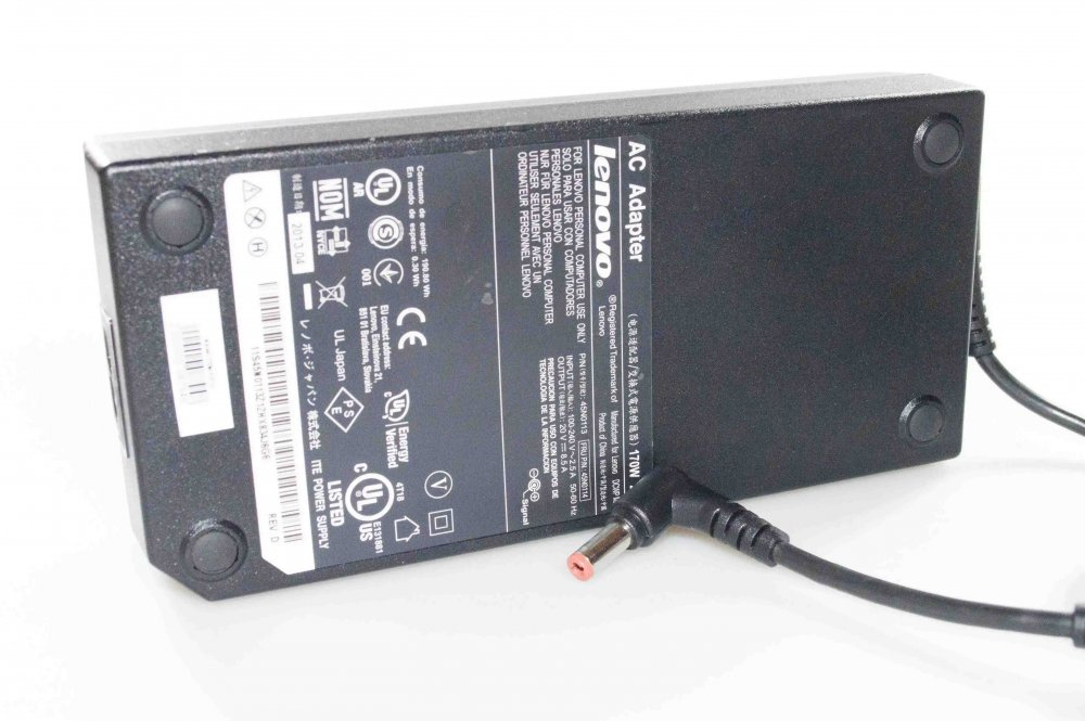Блок питания Lenovo Y500 20V 8.5A 170W 5.5/2.5 Оригинал