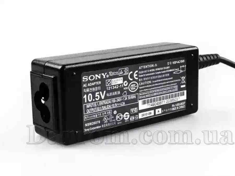 Блок питания Sony Vaio VGP-AC10V8 SVD11 Touchscreen Ultrabook 10.5V 4.3A 45W (4.8*1.7) Копия