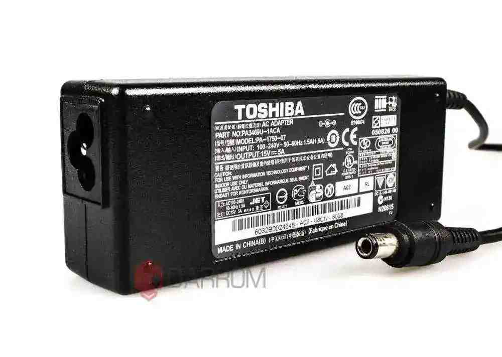 Блок питания для ноутбука Toshiba PA3378E-3AC3 15V 5A 75W (6.3*3.0) Копия