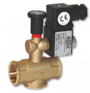 Купить Нормально закрытый клапан M16/RM N.C. MADAS P. max = 500 мбар DN 25*