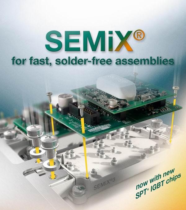 Силовий інтелектуальний ІGBT модуль SEMІX + SKYPER SEMІKRON