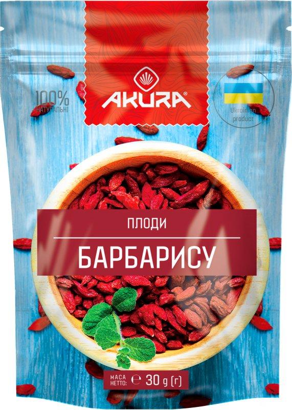 """Купить Плоды барбариса (сушеные) ТМ """"AKURA"""""""