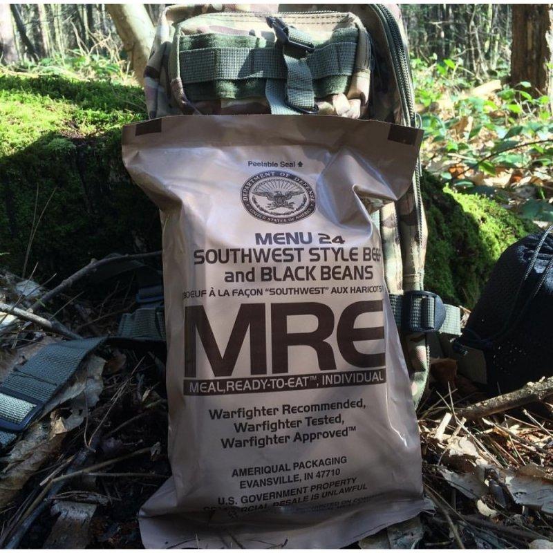Купить Американский сухой паёк MRE ( США ) вегетарианский.
