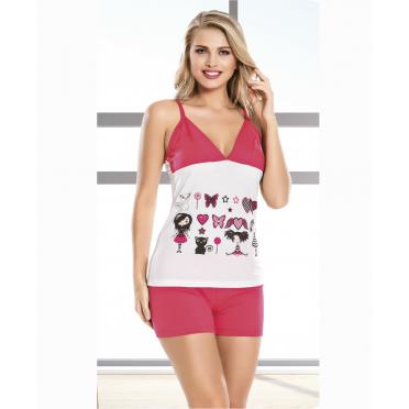 Купить Ткань Домашняя одежда lady lingerie - 7197 m комплект