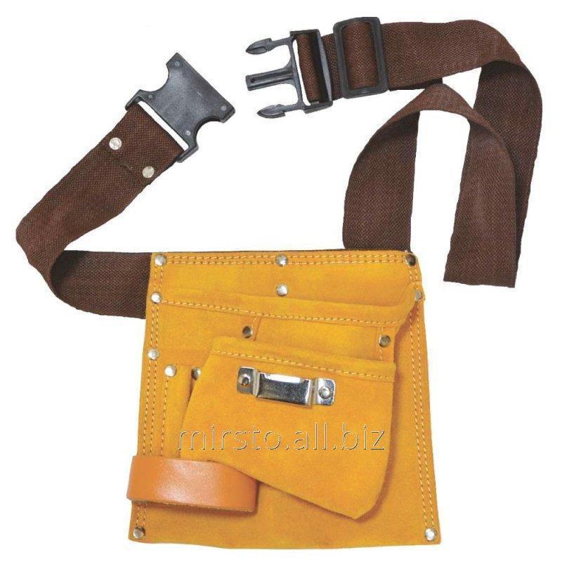 Купить Пояс слесарный (кожаный) 5 карманов GRAD (9450755)