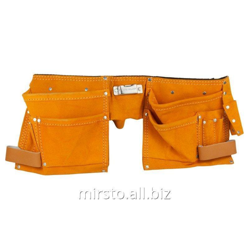 Купить Пояс слесарный (кожаный) 12 карманов SIGMA (9450351)