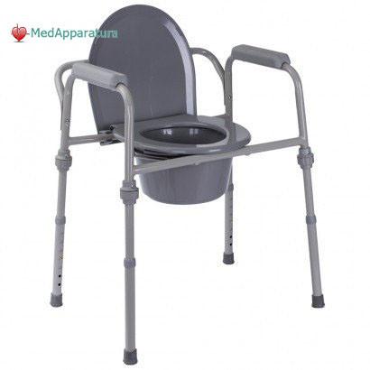 Купить Стул-туалет стандартный металлический (высота: 43-58)
