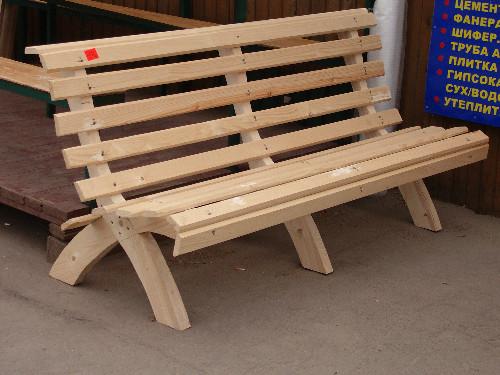 Деревянная скамейка своими руками фото