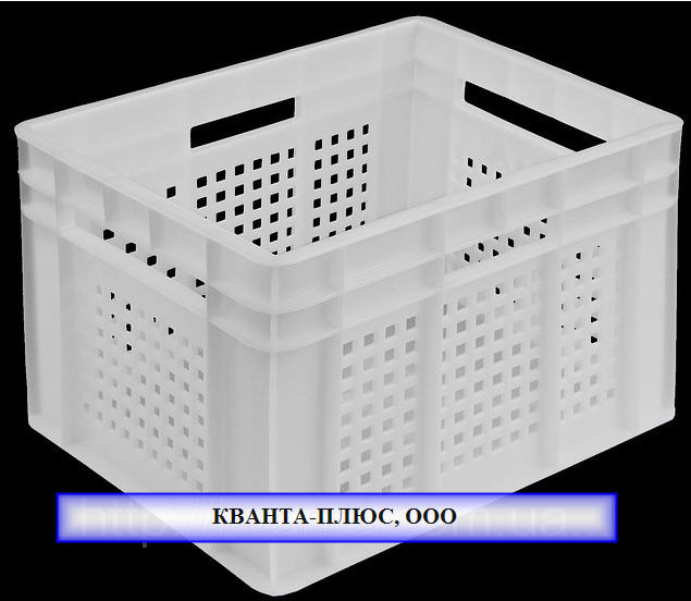 Купить Ящики для перевозки суточных цыплят Ящик пластмассовый 433х347х283 перфарированный