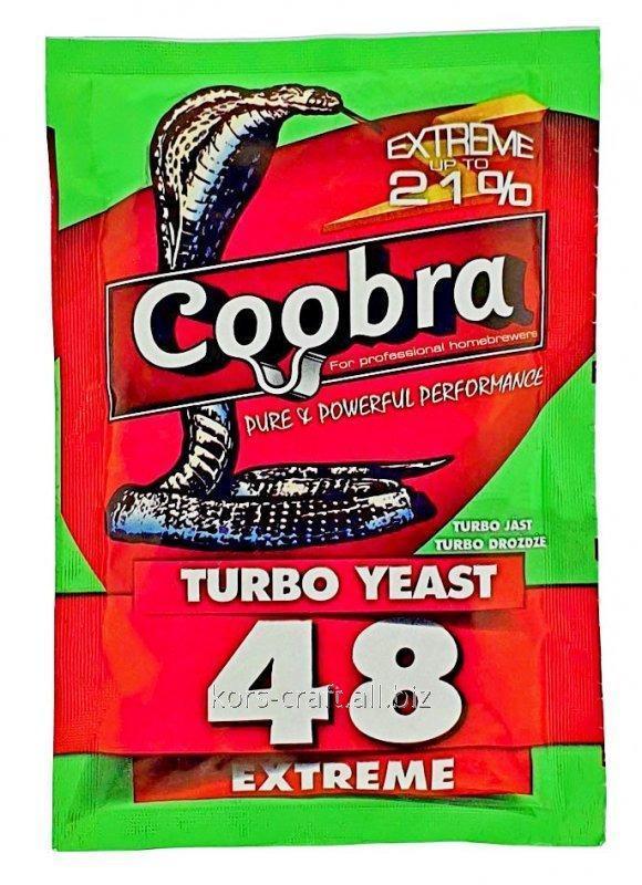 Купить Турбо сухие дрожжи Кобра Turbo Extreme 48
