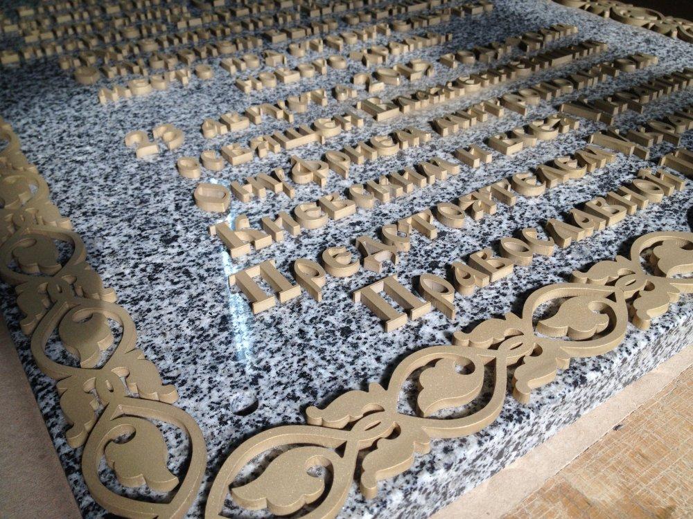 Художественные изделия из листового металла. Буквы металлические