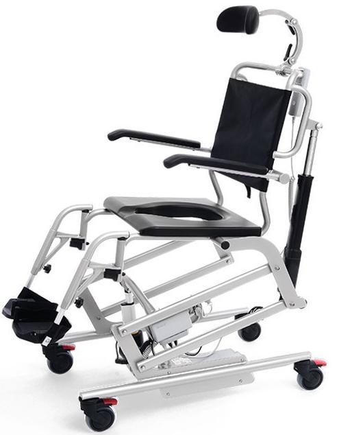 Купить Мобильное кресло для гигиены с регуляцией Meden Mohican