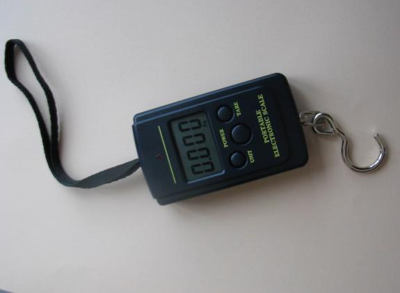 Весы электронные кантер точность 10 г, безмен