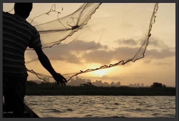 как забрасывать рыбацкий парашют