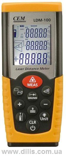 Лазерный дальномер LDM-100