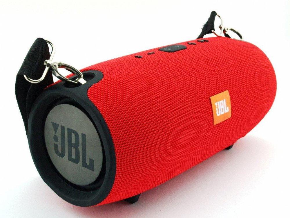 Влагозащищенная JBL XTREME BIG 40w Super Bass портативная Bluetooth колонка 3 динамика. Красный