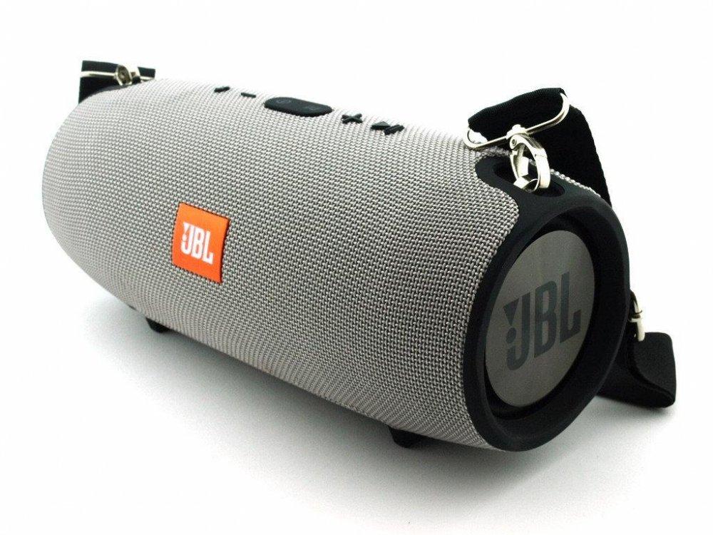 Влагозащищенная JBL XTREME BIG 40w Super Bass портативная Bluetooth колонка 3 динамика. Серый