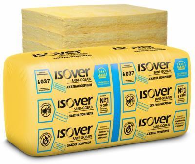 Купить Теплоизоляция минеральная вата Isover (Изовер) Скатная кровля 50 мм 610 х 1170 (14,274 м2)