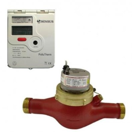 Купить Счетчик тепла PolluTherm / 2 x AN130 40-10