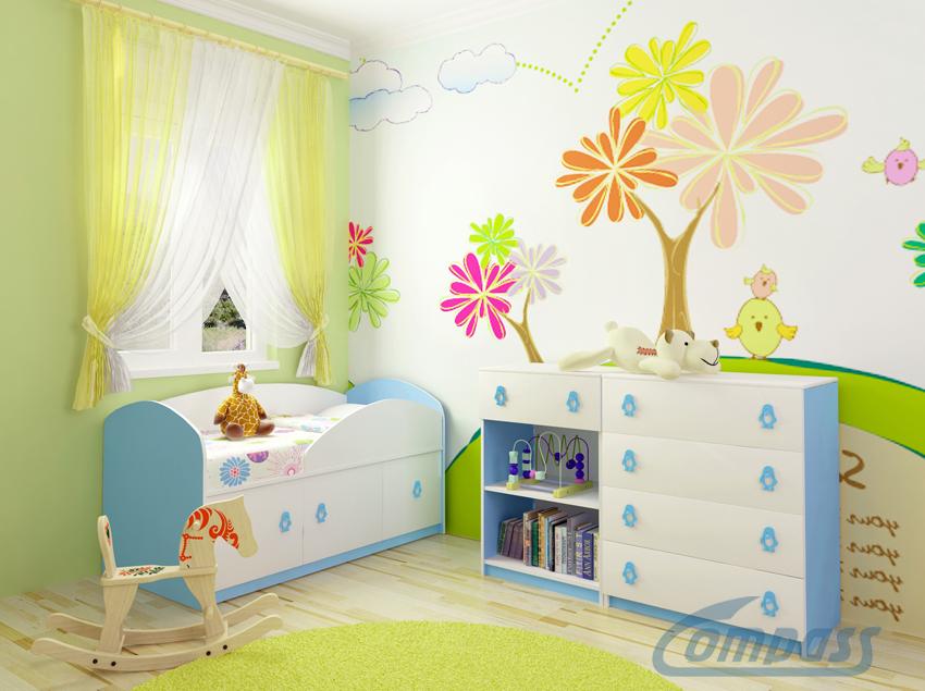 Купить Модульная детская мебель Маугли