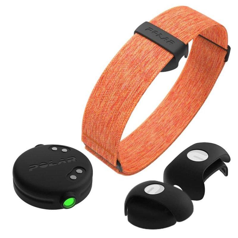 Купить Оптический датчик сердечного ритма Polar OH1+Optical HR, Orange (оранжевый)