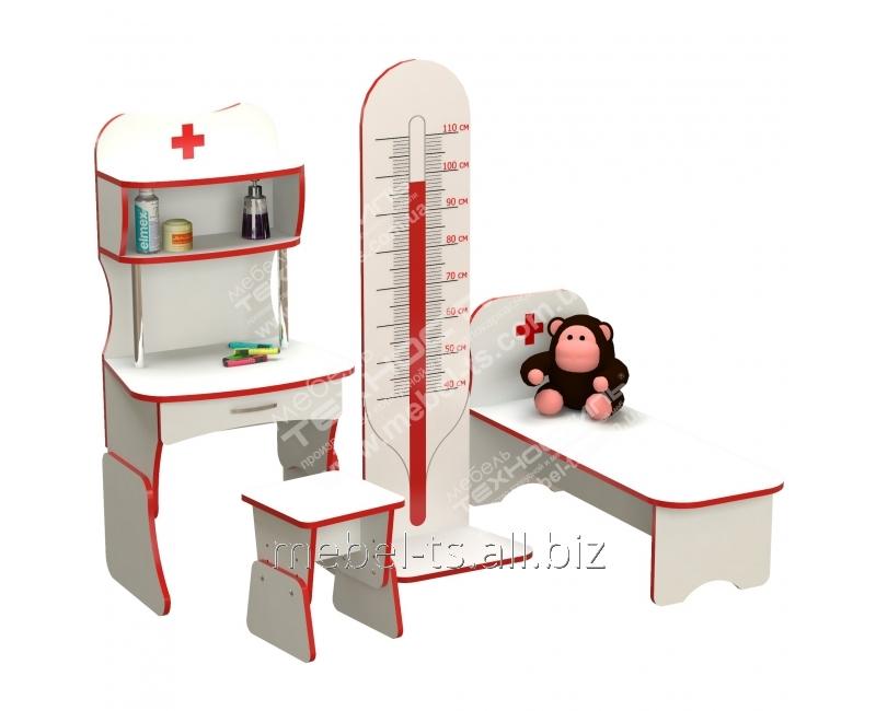 """Игровая стенка для детей """"Больница"""""""