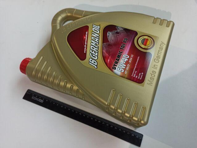 Купить Масло моторное 5W-40 синтетическое JB Dynamic TDI 4л (J2079044)