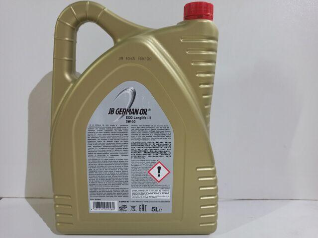 Купить Масло моторное 5W-30 синтетическое JB ECO Longlife III 5л (J2418045)