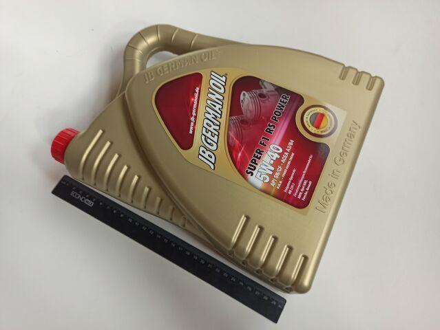 Купить Масло моторное 5W-40 синтетическое JB Super F1 RS Power 4л (J2086044)