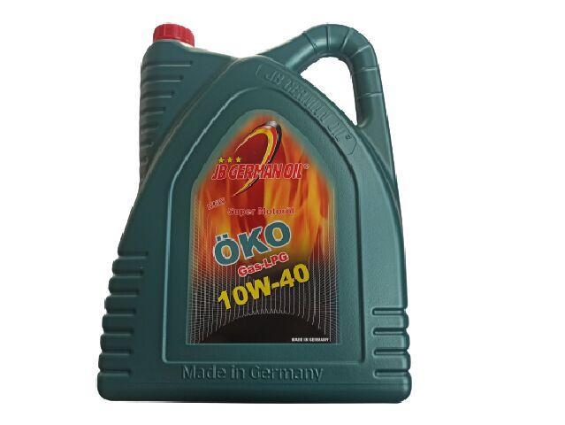 Купить Масло моторное 10W-40 полусинтетическое JB Super Motorol OKO Gas LPG 5л (J2302045)