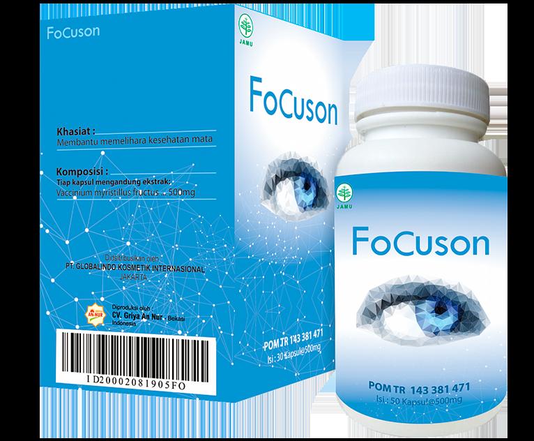 Buy Focuson (Fokuson) - capsules for improving vision
