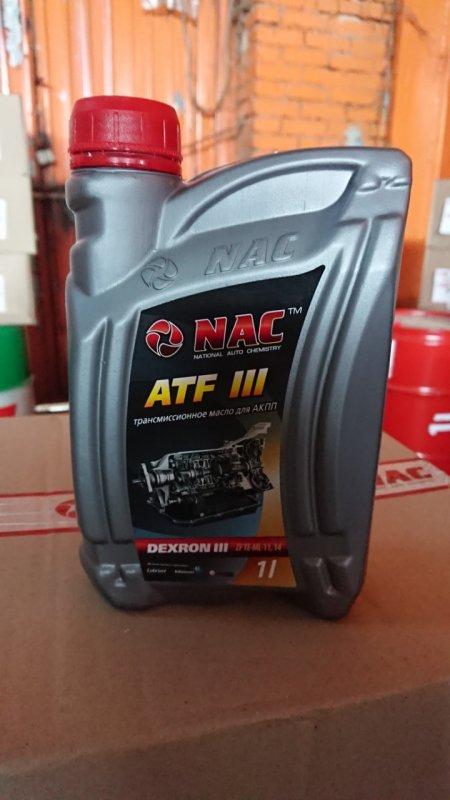 Купить Олива трансмісійна NAC ATF DEXRON IIІ 1л