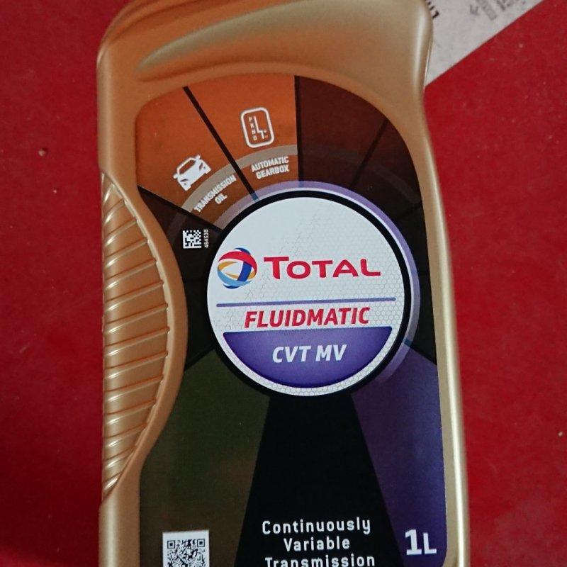 Купить Олива трансмісійна TOTAL FLUIDMATIC CVT MV. 18x1 lt (1 л)