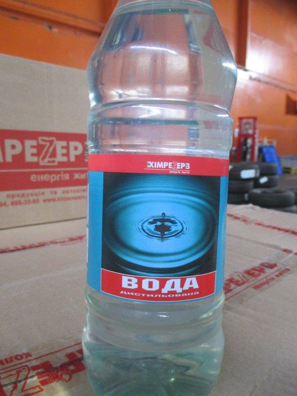 Купить Вода дистильована Хімрезерв(1 л)
