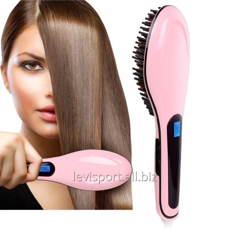 Электрическая расческа для укладки волос Fast Hair Straightener