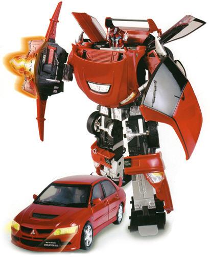 Про игрушки про роботов