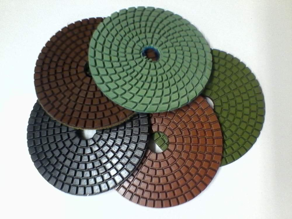 Buy Diamond flexible polishing wheel, flypaper, turtle, flypaper for granite polishing, polishing of a stone