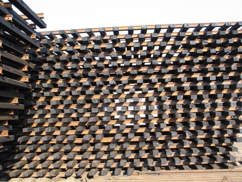 价格铁路木材枕木 在 世界市场