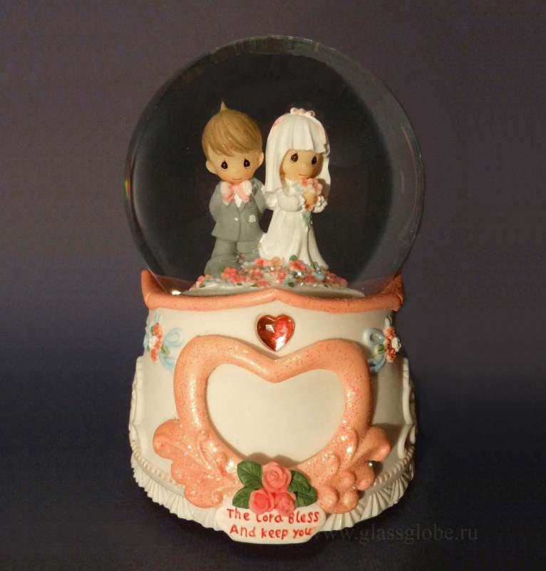 Музыкальный шар предложение Свадьба