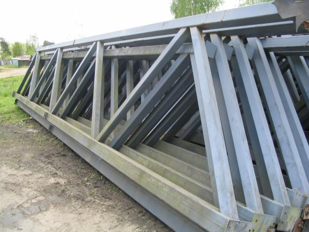 Metal constructions - production