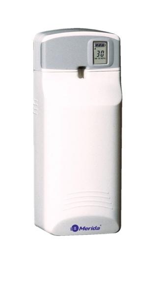 Купить Освежитель воздуха электронный автоматический MERIDA SELECT + профессиональный многорежимныйЭлектронный освежитель MERIDA- SELECT + Артикул: OE3 (ОЕ3)