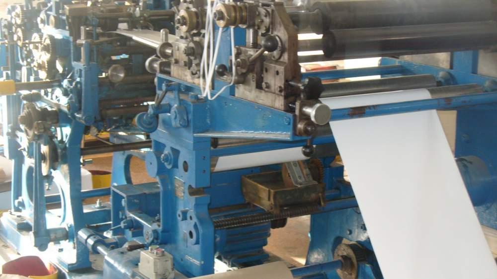 Купить Машина TK-2 для производства бумажных пакетов