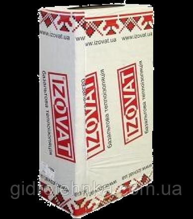 Купить Минвата Изоват 30 (1000х600х50мм) 0,3м3/6м2/уп 30кг/куб