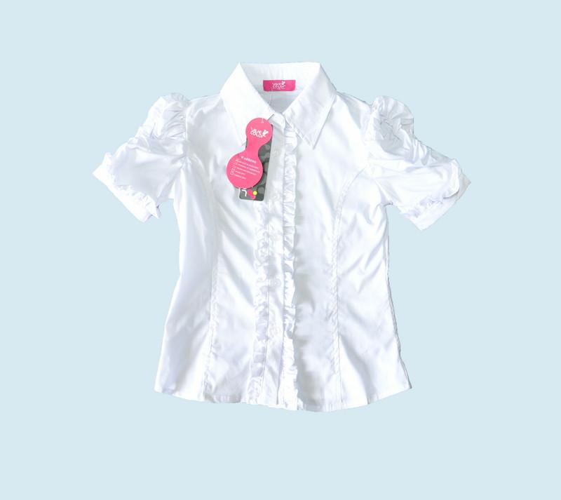 Купить дешевые опт школьные блузки