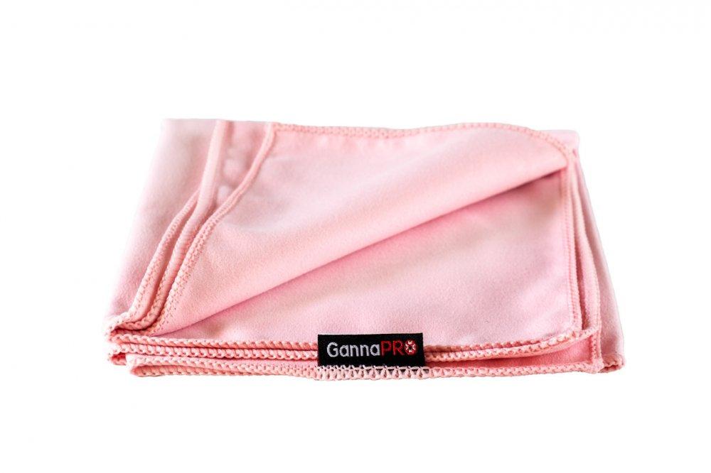 Купить Полотенце из микрофибры GannaPro™ размером 30х60 см белое